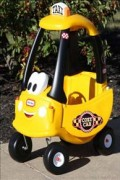Cozy Coupe - taxi - Little Tikes 172175