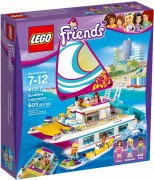LEGO FRIENDS 41317 - KATAMARÁN SUNSHINE