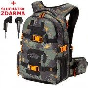 Studentský batoh Nugget Arbiter Backpack 4 B Light Heather Grey - Doprava Zdarma