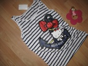 TRIČKO HELLO KITTY TOP ZN. H&M