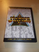STRYPER GREATEST HITS - LIVE IN PUERTO RICO (DVD) BAZAR