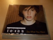 Texas ‎– Say What You Want (CD single)