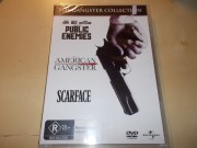THE GANGSTER COLLECTION - Public Enemies / American Gangster / Scarface (DVD)