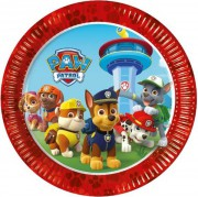 PARTY TALÍŘE PAW PATROL-SADA 8 Ks
