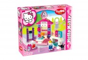 Stavebnice domeček Hello Kitty Boutique-playbig-bloxx