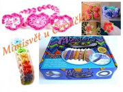 Loom bands stav Monster Tail sada 600KS