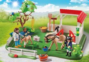 SUPERSET PADDOCK S KONĚM playmobil 6147