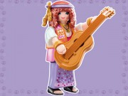 HIPPIES MUZIKANTKA playmobil 9147