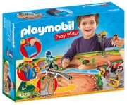 PLAY MAP MOTOKROS playmobil 9329