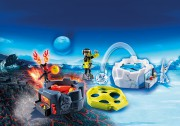 FIRE & ICE ACTION GAME playmobil 6831