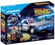 BACK TO THE FUTURE DeLorean playmobil 70317