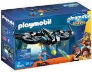 PLAYMOBIL THE MOVIE Robotitron s dronem 70071