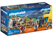 PLAYMOBIL THE MOVIE Charlie s vězeňským vozem 70073