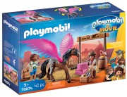 PLAYMOBIL THE MOVIE Marla,  Del a kůň s křídly 70074