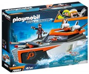 SPY TEAM TURBO LOĎ playmobil 70002