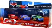 CARS (Auta) - 3pack Gift Pack (Lightning McQueen (Blesk)  +  Gask-Its  +  Faux Wheel)