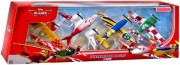 PLANES (Letadla) - 4pack International Racers - Sun Wing,  Rochelle...