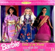 BARBIE Japan + Norway + Indian (Japonsko + Norsko + Indie) - r. 1995