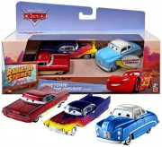 CARS (Auta) - 3pack - Hometown Radiator Springs - Exclusive Jonas Revera  +  Greta  +  Old School Ramone