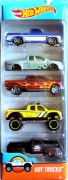 HOT WHEELS - 5pack Hot Trucks