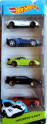 HOT WHEELS - 5pack HW Exotics