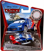 CARS 2 (Auta 2) - Raoul Caroule Silver Metallic Finish
