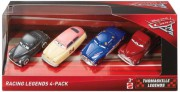 CARS 3 (Auta 3) - 4pack Racing Legends (Louise Nash,  Junior Moon,  Heyday Smokey...)