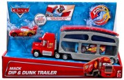 CARS 2 (Auta 2) - Color Changers Mack Dip & Dunk Trailer  +  Lightning McQueen (Blesk)