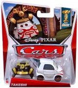 CARS (Auta) - Takeshi SUPER CHASE - sběratelský model