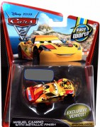 CARS 2 Deluxe (Auta 2) - Miguel Camino with Metallic Finish