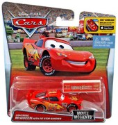 CARS 2 (Auta 2) - Lightning McQueen with Pit Stop Barrier