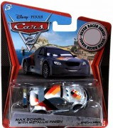 CARS 2 (Auta 2) - Max Schnell Silver Metallic Finish