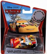 CARS 2 (Auta 2) - Miguel Camino Silver Metallic Finish