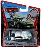CARS 2 (Auta 2) - Nigel Gearsley Silver Metallic Finish