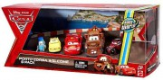 CARS 2 (Auta 2) - 5pack Porto Corsa Welcome - Luigi,  Guido,  McQueen,  Mater,  Uncle Topolino