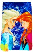 SUN CITY Deka polar fleece FROZEN Anna a Elsa 100x150