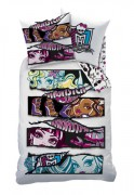 CTI Povlečení Monster High White Velvet white 140x200,  60x80