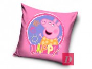 T.TRADE. Polštářek PEPPA PIG Sweet Happy 37x37