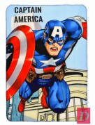 SUN CITY Polar fleece deka AVENGERS Captain America 100x150