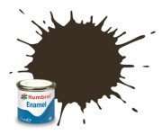 AA0117  - 10 Service Brown Gloss - 14ml Enamel Paint