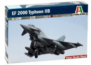 Model Kit letadlo 1340 - EF 2000 TYPHOON with seater (Italeri 1:72)
