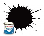 AA0936  - 85 Coal Black Satin - 14ml Enamel Paint