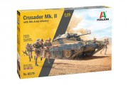 Crusader Mk. II with 8th Army Infantry (Italeri 1:35)