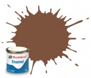 AA6224 - 186 Brown Matt - 14ml Enamel Paint