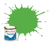 AA7081 - 208 Fluorescent Signal Green Gloss - 14ml Enamel Paint