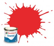 AA7105 - 209 Fluorescent Fire Orange Gloss - 14ml Enamel Paint