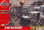 Gift Set diorama A50156A - D-Day 75th Anniversary Sea Assault