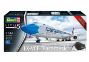 Boeing 747-8F CARGOLUX LX-VCF Facemask (Revell 1:144)