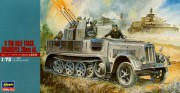 8 Ton Half Track with Quadrople 20mm AA