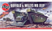Classic Kit VINTAGE military A02302V - Buffalo Willys MB Jeep (1:76)